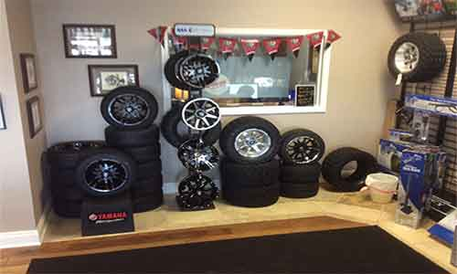 Wheels and Tires for Golf Carts