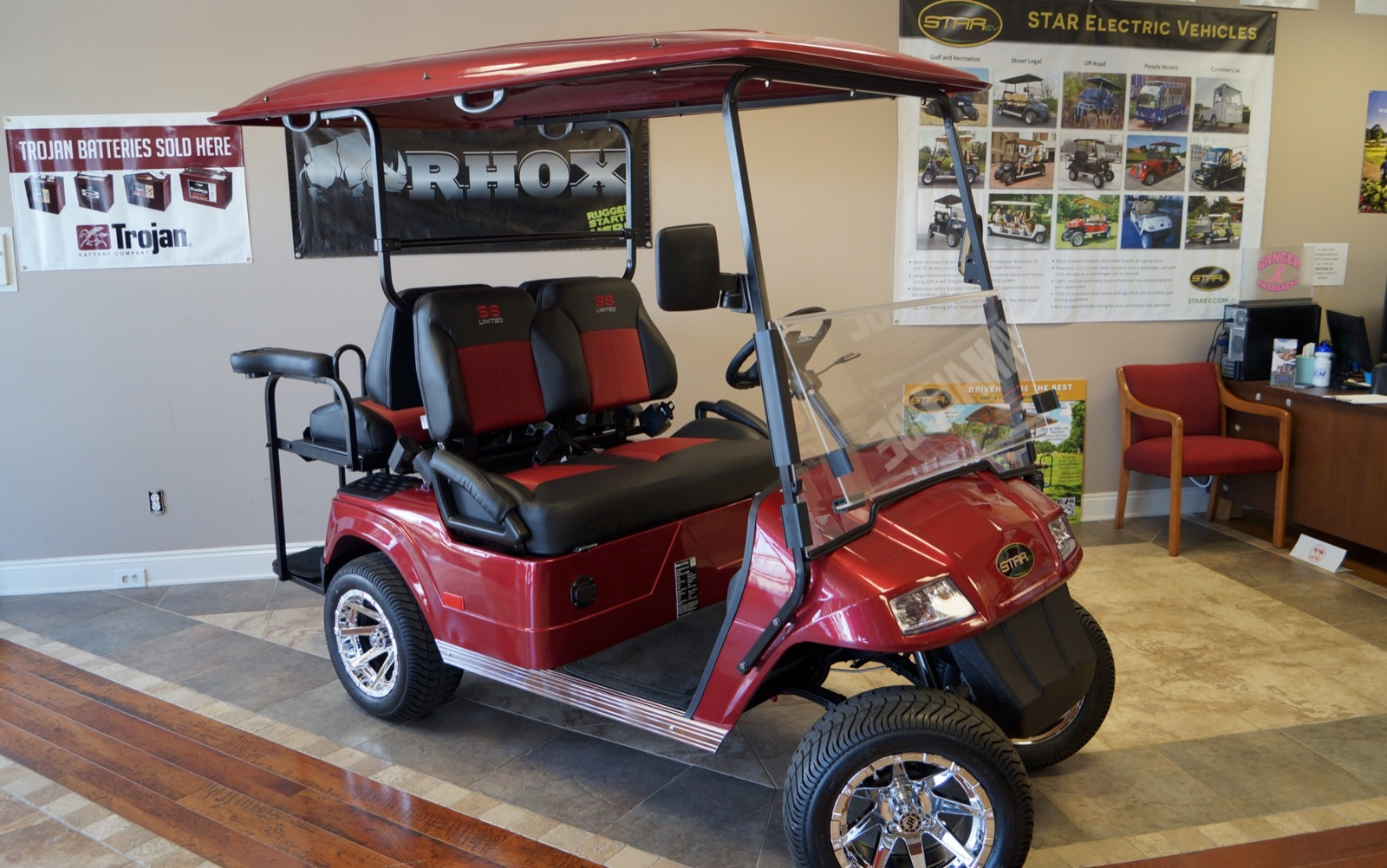 Star street legal carts golf carts for sale mobile al for Advanced motors and drives golf cart